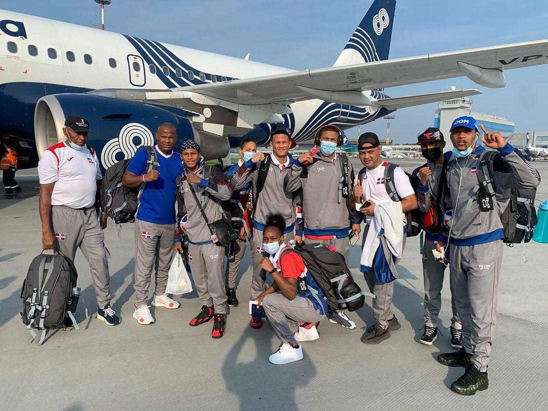 Boxeadores dominicanos ya están en Tokio
