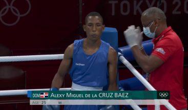 Alexy De La Cruz obtiene victoria en Tokio 2020; avanza a segunda ronda